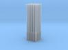 Betonmast 5m achteckig, hohl, DDR, 1:87, 25 Stück 3d printed