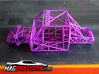MagDragster [MD-Golf01] RC Car / MagRacing Car 3d printed MagDragster Purple Golf Mk1 Chassis