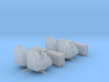 "1/192 Royal Navy 7"" UP Launchers x4 3d printed 1/192 Royal Navy 7"" UP Launchers x4"