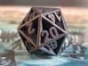 D20 - Plunged Sides 3d printed The  D20 Printer In Steel.