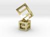 Geometric Pendant #1 3d printed