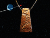 Grand Canyon Pendant 3d printed Looks great with a traditional chain or on a chord