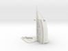 Burj Al Arab (1:2000) 3d printed