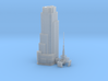 4 Times Square (1:2000) 3d printed
