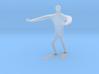 Blind walk statue 3d printed