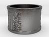 Handprint Pipe Ring (Metal) 3d printed