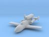 (1:285) Messerschmitt Me 328 (3x jets config) 3d printed