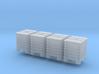 TT Scale IBC 4pc 3d printed