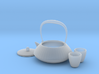 Japanese Tea Set 1/6 3d printed