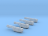 Engines style 3 pack 270th 3d printed