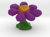 Flower Full-Color Figure 3d printed