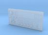 RCN027 Radio panel for Jeep XJ dashboard 3d printed