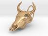 Bullskull Earrings 3d printed