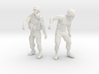 1-18 Military Zombie Set 7 3d printed