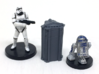 6-Pack of Star Wars Loot Crate Wargaming Terrain 3d printed Actual 3D print after cleaning/priming