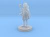Female Halfling Sorceress 3d printed