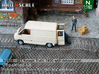 SET Renault Trafic T800 with delivery man (N) 3d printed
