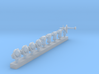 1:720 Scale US Aircraft Carrier 1960/70s Accessori 3d printed