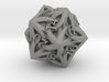 Celtic D20 - Solid Centre for Plastic 3d printed