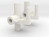 Maisto Extreme Beast Front Upright Spindle Set 3d printed