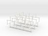 Haugland's grid subgraph no. 1 3d printed