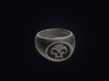 Black Mana Ring 3d printed 3D visualization of the ring in Stainless Steel