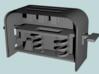 BJD Spring-Loaded Toaster 3d printed Render of Toaster Internals
