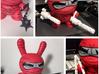 "nunchakus for 8"" inch Dunny  ninja weapon  3d printed"
