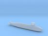 Harushio-class submarine, Full Hull, 1/1800 3d printed
