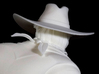 The Gunfighter (Large) 3d printed Close up of back of head.