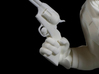 The Gunfighter (Large) 3d printed Close up of hand and gun