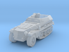 sdkfz 250 A1 scale 1/100 3d printed