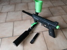 put bottle in front for tippmann 98 3d printed