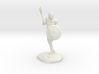Wandacea, the Barbarian with Sword and Shield 3d printed
