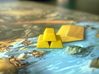 Gold Bars For Stone Age, Set of 10 3d printed Gold in the river? Yes please.