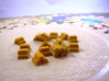 Gold Replacements for Tzolk'in, Set of 30 3d printed Collecting gold on the wheels of time.