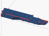 1/16 Challenger 2 BAR armour 3d printed Screenshot shows the  spruce (Red).