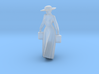 Woman Walking: Long Dress & Hat Carrying Buckets 3d printed