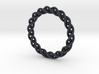 Twisted Single Strand Ring No.2 3d printed