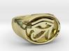 Eye of Dawn Men's Ring - Custom Signature Jewelry  3d printed