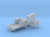 MOW Service Truck With Crane 1-87 HO Scale 3d printed