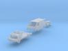 SET Renault Trafic w delivery man (British N 1:148 3d printed