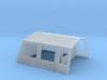 Bungalow tent (N 1:160) 3d printed