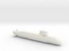 Soryu-class submarine, Full Hull, 1/2400 3d printed