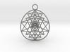 3D Sri Yantra 3 Sided Optimal 3d printed