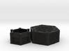 Centrifugal Force Puzzlebox v2.0 3d printed Black Natural Versatile Plastic