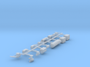 Pullman Underframe Details (Steam Ejector A/C) 3d printed