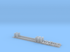 Observation Buffet Car Interior with Seats 3d printed