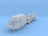 Renault Trafic T1000D Camper Van (N 1:160) 3d printed