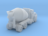 Mack Cement Truck - Open Cab - Z scale 3d printed